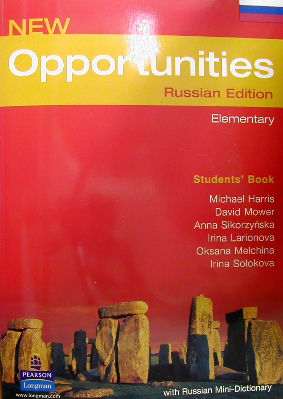 ������� �����  «New Opportunities Elementary Students' Book. Russian Edition»