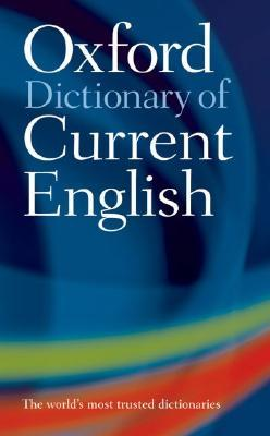 Oxford Dictionary of Current English обложка книги