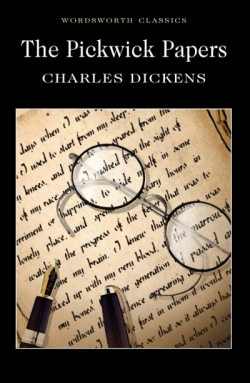 The Pickwick Papers, Dickens C. обложка книги