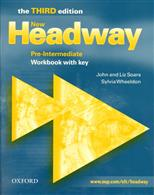 New Headway English Course. Pre-Intermediate. Workbook with key. Third Edition, Soars John, Soars Liz обложка-превью