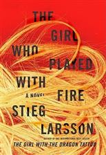The Girl Who Played with Fire, Larsson Stieg обложка-превью