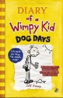 Diary of a Wimpy Kid: 4 Dog Days, Kinney J. обложка-превью