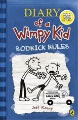 Diary of a Wimpy Kid. Rodrick Rules, Kinney J. обложка-превью