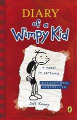 Diary of a Wimpy Kid, Kinney J. обложка-превью
