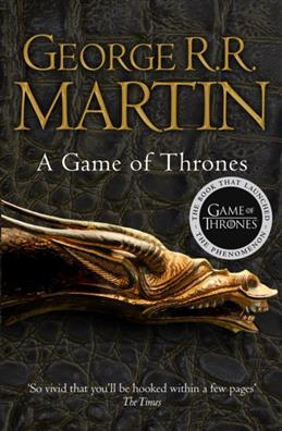 A Game of Thrones, Martin George R. R. обложка книги