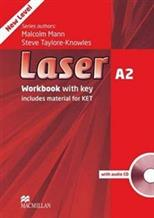 Laser A2. Workbook with Key. Includes material for KET. (+ 1 CD), Mann M., Taylore-Knowles S. обложка-превью