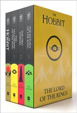 The Hobbit. The Lord of The Rings. The Two Towers. The Return of the King. Комплект из 4 книг, Tolkien J. R. R. обложка-превью
