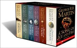 Song of Ice and Fire. В 6 томах, Martin George R. R. обложка книги