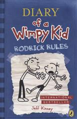 Diary of a Wimpy Kid: 2 Rodrick Rules, Kinney J. обложка-превью
