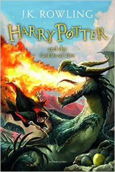 Harry Potter and the Goblet of Fire, Rowling J. K. обложка книги