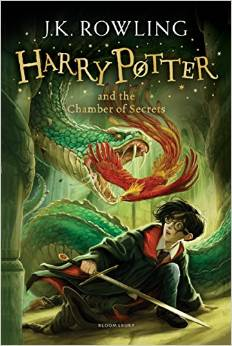 Harry Potter and the Chamber of Secrets, Rowling J. K. обложка книги
