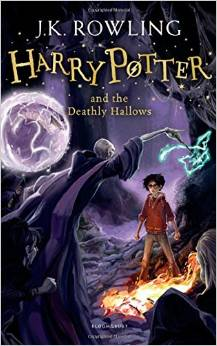 Harry Potter and the Deathly Hallows, Rowling J. K. обложка книги