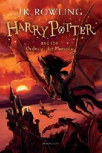Harry Potter and the Order of the Phoenix, Rowling J. K. обложка книги