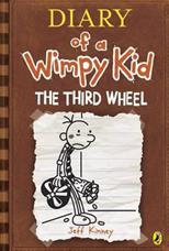 Diary of a Wimpy Kid 7: Third Wheel, Kinney J. обложка-превью