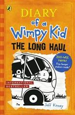 Diary of a Wimpy Kid. The Long Haul, Kinney J. обложка-превью