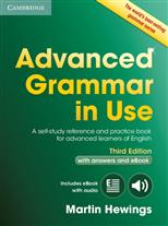 Advanced Grammar in Use. A self-study reference and practice book for advanced learners of English. Third Edition. Book with answers and eBook обложка-превью