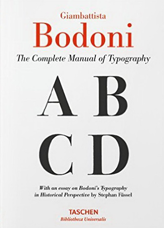 Bodoni Manual Of Typography