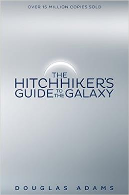 Hitchhiker's Guide to the Galaxy, Adams D. обложка книги