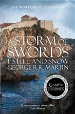 A Storm of Swords: Part 2 Steel and Snow. A Song of Ice and Fire (3), Martin George R. R. обложка-превью