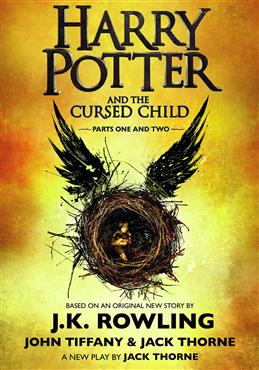 Harry Potter and the Cursed Child. Parts one and two, Rowling J. K., Tiffany J. обложка книги