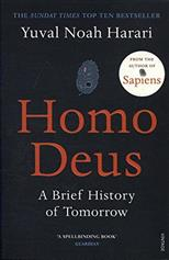 Homo Deus: A Brief History of Tomorrow, Harari N. Y. обложка-превью