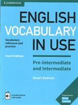 English Vocabulary in Use Pre-intermediate and Intermediate Book with answers and enhanced ebook обложка-превью