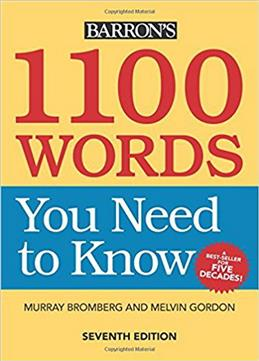 1100 Words You Need to Know обложка книги
