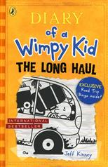 Diary of a Wimpy Kid: The long Haul, Kinney J. обложка-превью