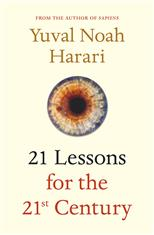 21 Lessons for the 21st Century, Harari N. Y. обложка-превью