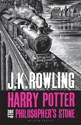 Harry Potter and the Philosopher's Stone, Rowling J. K. обложка книги