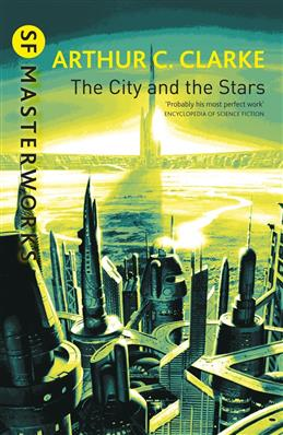 City and the Stars, Clarke Arthur C. обложка книги