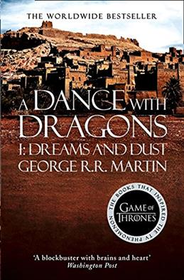 Dance with Dragons, Martin George R. R. обложка книги