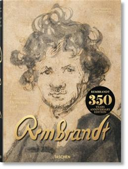 Rembrandt. Complete Drawings and Etchings XXL обложка книги