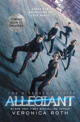 Allegiant. Movie Tie-In Edition, Roth V. обложка книги