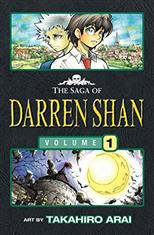 Cirque Du Freak.The Saga of Darren Shan. Book 1 обложка-превью