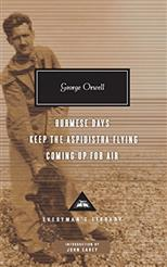 Burmese Days, Keep the Aspidistra Flying, Coming Up for Air, Orwell G. обложка-превью