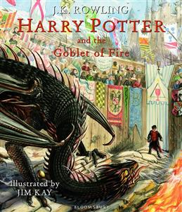 Harry Potter and the Goblet of Fire: Illustrated Edition, Rowling J. K. обложка книги