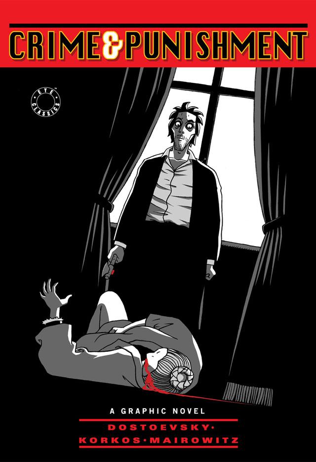 "Книга ""Crime and Punishment. A Graphic Novel"" Dostoevsky F ..."
