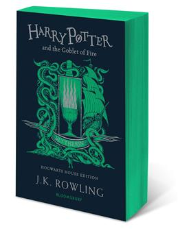 Harry Potter and the Goblet of Fire. Slytherin Edition, Rowling J. K. обложка книги