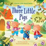 Little Board Book Three Little Pigs, Sims L. обложка-превью