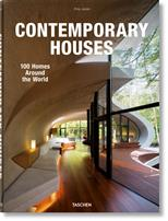 Contemporary Houses. 100 Homes Around the World обложка-превью